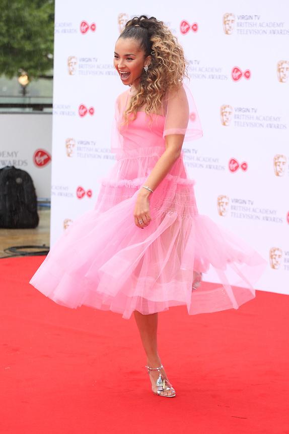 Ella Eyre<br />  arriving at the Bafta Tv awards 2017. Royal Festival Hall,London  <br /> ©Ash Knotek