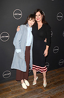 LOS ANGELES - JAN 9:  Emily Skeggs, Marcia Gay Harden at the Lifetime Winter Movies Mixer at The Andaz on January 9, 2019 in West Hollywood, CA