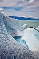 Glacier Viedma looks out over Lago Viedma in Parque Nacional los Glaciares (North), Argentina.