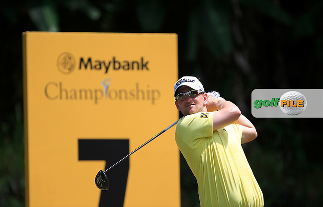 Bernd Wiesberger (GER) on the 7th tee during Round 2 of the Maybank Championship on Friday 10th February 2017.<br /> Picture:  Thos Caffrey / Golffile<br /> <br /> All photo usage must carry mandatory copyright credit     (&copy; Golffile | Thos Caffrey)