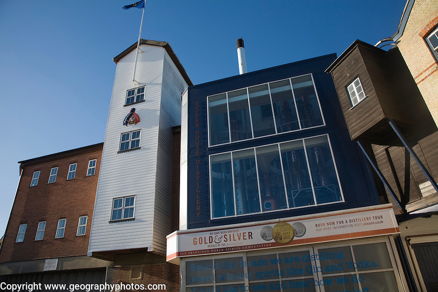 Adnams brewery and Copper House distillery, Southwold, Suffolk, England