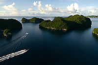 Aerial Rock Islands,Palau