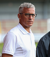 Carlisle United manager Keith Curle  <br /> <br /> Photographer Andrew Kearns/CameraSport<br /> <br /> The Carabao Cup First Round - Fleetwood Town v Carlisle United Kingdom - Tuesday 8th August 2017 - Highbury Stadium - Fleetwood<br />  <br /> World Copyright &copy; 2017 CameraSport. All rights reserved. 43 Linden Ave. Countesthorpe. Leicester. England. LE8 5PG - Tel: +44 (0) 116 277 4147 - admin@camerasport.com - www.camerasport.com