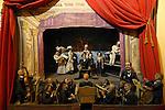 Il Museo della Marionetta al Teatro Gianduja. Puppet Museum in the Gianduja Theatre.