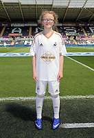 Swansea mascots during the Swansea City FC v Manchester City Premier League game at the Liberty Stadium, Swansea, Wales, UK, Sunday 15 May 2016