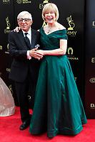PASADENA - APR 29: Jamie Farr, Loretta Swit at the 45th Daytime Emmy Awards Gala at the Pasadena Civic Center on April 29, 2018 in Pasadena, California