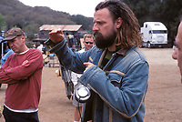 The Devil's Rejects (2005) <br /> Behind the scenes photo of Rob Zombie<br /> *Filmstill - Editorial Use Only*<br /> CAP/KFS<br /> Image supplied by Capital Pictures