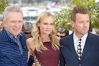 Jean-Paul Gaultier, Diane Kruger and Ewan McGregor attending the Jury Photocall during the 65th annual International Cannes Film Festival in Cannes, France, 16.05.2012...Credit: Timm/face to face /MediaPunch Inc. ***FOR USA ONLY***