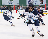 Sam Becker (Maine - 23), Evan Richardson (UConn - 19) - The University of Maine Black Bears defeated the University of Connecticut Huskies 4-0 at Fenway Park on Saturday, January 14, 2017, in Boston, Massachusetts.
