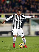 Calcio, Serie A: Fiorentina - Juventus, stadio Artemio Franchi Firenze 9 febbraio 2018.<br /> Juventus' Douglas Costa in action during the Italian Serie A football match between Fiorentina and Juventus at Florence's Artemio Franchi stadium, February 9, 2018.<br /> UPDATE IMAGES PRESS/Isabella Bonotto