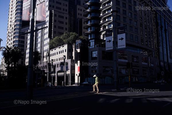 Sandton 14.06.2012 South Africa <br /> Sandton financial district near Johannesburg.<br /> Photo: Adam Lach / Napo Images<br /> <br /> Sandton dzielnica finansowa w poblizu Johannesburga. <br /> Fot: Adam Lach / Napo Images