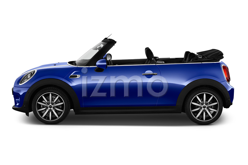 Car driver side profile view of a 2018 Mini Mini Chilli 2 Door Convertible