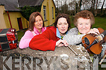 HISTORY  MAKERS:Rita O'Sullivan, Mary McGarvey and Abbie O'Sullivan pictured at  the old Cashlaugh National School in Dromid as they prepare for the Dromid Heritage Society Easter Week celebrations.