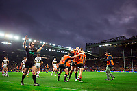 Picture by Alex Whitehead/SWpix.com - 07/10/2017 - Rugby League - Betfred Super League Grand Final - Castleford Tigers v Leeds Rhinos - Old Trafford, Manchester, England - Castleford try not given. Jy Hitchcox