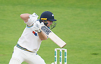 Picture by Allan McKenzie/SWpix.com - 06/09/2017 - Cricket - Specsavers County Championship - Yorkshire County Cricket Club v Middlesex County Cricket Club - Headingley Cricket Ground, Leeds, England - Yorkshire's Adam Lyth hits out.