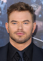 HOLLYWOOD, LOS ANGELES, CA, USA - AUGUST 11: Kellan Lutz at the Los Angeles Premiere Of Lionsgate Films' 'The Expendables 3' held at the TCL Chinese Theatre on August 11, 2014 in Hollywood, Los Angeles, California, United States. (Photo by Xavier Collin/Celebrity Monitor)