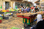 Israel, the market of Old Acco