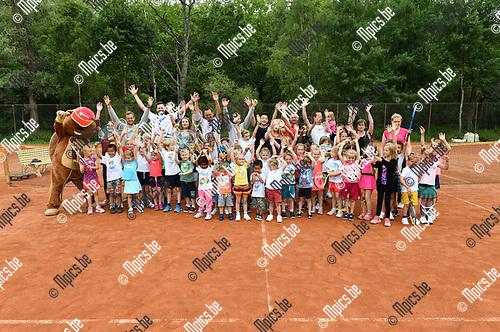 2017-06-17 / Tennis / Seizoen 2017 / Kidstennis TC Borgerweert / <br /> <br /> ,Foto: Mpics.be