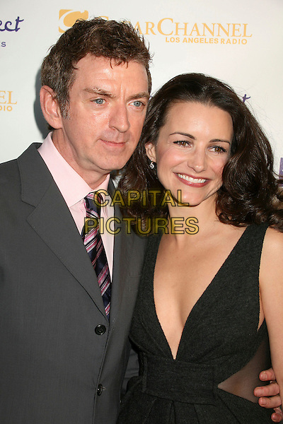 "MICHAEL PTRICK KING & KRISTIN DAVIS.The Trevor Project's Cracked Xmas 9 ""Mistletoe, Mischief & Myrrh!"" at the Wiltern LG, Los Angeles, California, USA, 03 December 2006..half length grey low cut dress.CAP/ADM/BP.©Byron Purvis/AdMedia/Capital Pictures."