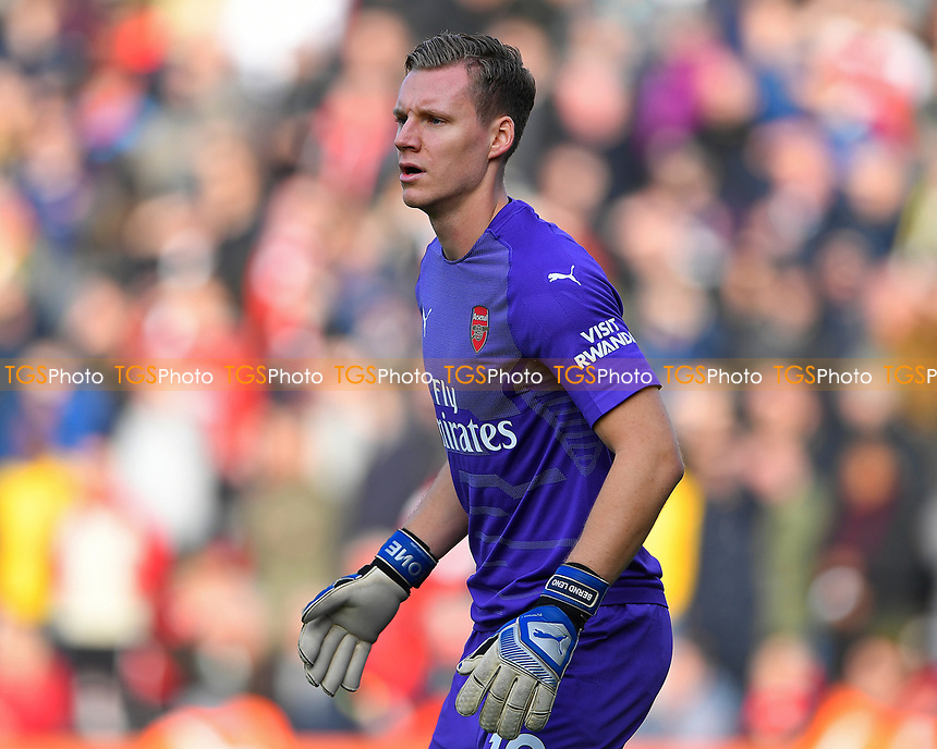 Bernd Leno of Arsenal during AFC Bournemouth vs Arsenal, Premier League Football at the Vitality Stadium on 25th November 2018