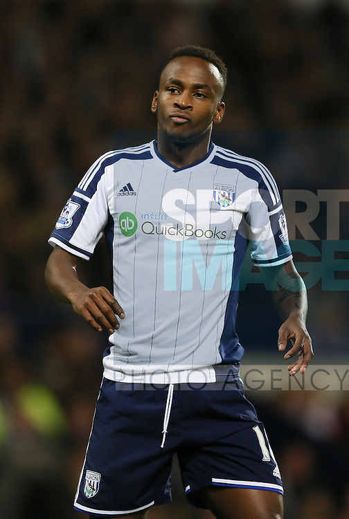 File picture of Saido Berahino of West Bromwich Albion who has been named in the England squad today  - Barclays Premier League - WBA vs Manchester Utd - Hawthorns Stadium - West Bromwich - England - 20th October 2014 - Picture Simon Bellis/Sportimage