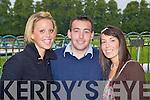 Michelle Hoare, John and Sarah Houlihan Killorglin at the Killarney Races on Monday
