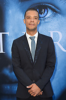 Jacob Anderson at the season seven premiere for &quot;Game of Thrones&quot; at the Walt Disney Concert Hall, Los Angeles, USA 12 July  2017<br /> Picture: Paul Smith/Featureflash/SilverHub 0208 004 5359 sales@silverhubmedia.com