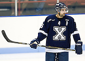 Bryce Swan (StFX - 16) - The visiting St. Francis Xavier University X-Men defeated the Northeastern University Huskies 8-5 on Sunday, October 2, 2011, at Matthews Arena in Boston, Massachusetts.