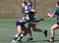 Penn State women's rugby Kayla Canett  against Allegheny All Stars women's rugby on March 31, 2018.  Photo/© 2018 Craig Houtz