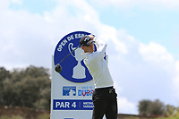 Tom Murray (ENG) on the 11th tee during Round 2 of the Open de Espana 2018 at Centro Nacional de Golf on Friday 13th April 2018.<br /> Picture:  Thos Caffrey / www.golffile.ie<br /> <br /> All photo usage must carry mandatory copyright credit (&copy; Golffile | Thos Caffrey)