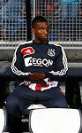 Nederland, Almelo, 20 oktober 2012.Eredivisie .Seizoen 2012-2013.Heracles-Ajax.Ryan Babel van Ajax zit op de reservebank.