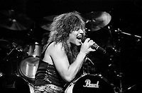FILE -  BON JOVI opnes for Judas Priest at the Montreal Forum, <br /> July 23, 1986.<br /> <br /> PHOTO  : Pierre Roussel<br />  - Agence Quebec Presse