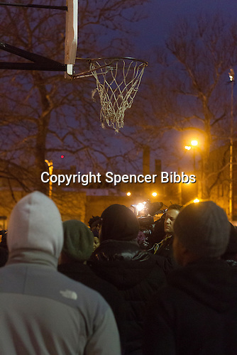 Friends and family of Quintonio LeGrier met Tuesday evening for a candle light vigil to remember the 19-year-old whose life was tragically and senselessly taken by Chicago Police over the 2015 Christmas holiday weekend.<br /> <br /> Please 'Like' &quot;Spencer Bibbs Photography&quot; on Facebook.<br /> <br /> All rights to this photo are owned by Spencer Bibbs of Spencer Bibbs Photography and may only be used in any way shape or form, whole or in part with written permission by the owner of the photo, Spencer Bibbs.<br /> <br /> For all of your photography needs, please contact Spencer Bibbs at 773-895-4744. I can also be reached in the following ways:<br /> <br /> Website &ndash; www.spbdigitalconcepts.photoshelter.com<br /> <br /> Text - Text &ldquo;Spencer Bibbs&rdquo; to 72727<br /> <br /> Email &ndash; spencerbibbsphotography@yahoo.com