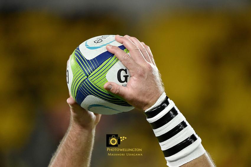 Super Rugby - Hurricanes v Blues at Westpac Stadium, Wellington, New Zealand on Saturday 2 July 2016. <br /> Photo by Masanori Udagawa. <br /> www.photowellington.photoshelter.com.