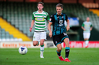 George Byers of Swansea City in action during the pre season friendly match between Yeovil Town and Swansea City at Huish Park in Yeovil, England, UK. 16 July 2019