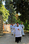 Easter Monday procession at Emmaus-Nicopolis