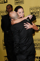 January 15, 2010:  Emily Blunt and Stanley Tucci arrives at the 15th Annual Critics' Choice Movie Awards held at the Palladium in Los Angeles, California. .Photo by Nina Prommer/Milestone Photo