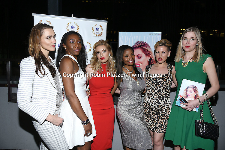 Dalal/ Dalal Bruchmann. Recording Artist,Composer and Actress,  Maggie Delany and group attend the &quot;EPN Spotlight Magazine&quot;  launch party on June 10, 2016 at the Renaissance NY Hotel in New York, New York, USA. Dalal Bruchmann is the cover model.<br /> <br /> photo by Robin Platzer/Twin Images<br />  <br /> phone number 212-935-0770