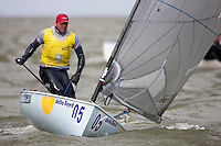 Edward Wright, GBR, Finn, Day 4, May 27th, Delta Lloyd Regatta in Medemblik, The Netherlands (26/30 May 2011).