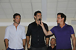 Live Auction - Ryan Carnes - Ryan Paivey - Christian LeBlanc - (MC) -  Actors from Y&R, General Hospital donated their time to Southwest Florida 16th Annual SOAPFEST - a celebrity weekend May 22 thru May 25, 2015 benefitting the Arts for Kids and children with special needs and ITC - Island Theatre Co. as it presented A Night of Stars on May 23 , 2015 at Bistro Soleil, Marco Island, Florida. (Photos by Sue Coflin/Max Photos)