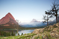 Swiftcurrent Lake, Mt. Grinnell, Mt. Wilbur, Glacier National Park