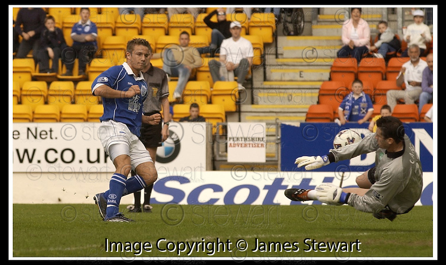 12/05/2002                   Collect Pic : James Stewart.File Name : stewart-st johnstone v hibs 05.TONY CRAIG MAKES THE FIRST OF HIS TWO POINT BLANK SAVES FROM KEIGAN PARKER........Payments to :-.James Stewart Photo Agency, 19 Carronlea Drive, Falkirk. FK2 8DN      Vat Reg No. 607 6932 25.Office     : +44 (0)1324 570906     .Mobile  : +44 (0)7721 416997.Fax         :  +44 (0)1324 570906.E-mail  :  jim@jspa.co.uk.If you require further information then contact Jim Stewart on any of the numbers above.........