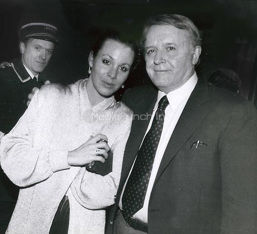 Rod Steiger & Paula Ellis 1986<br /> Photo By John Barrett-PHOTOlink.net / MediaPunch