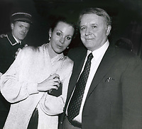 Rod Steiger &amp; Paula Ellis 1986<br /> Photo By John Barrett-PHOTOlink.net / MediaPunch