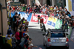 Marc Soler (ESP) during the Men's Elite Individual Time Trial of the 2018 UCI Road World Championships running 52.5km from Wattens to Innsbruck, Innsbruck-Tirol, Austria 2018. 26th September 2018.<br /> Picture: Innsbruck-Tirol 2018 | Cyclefile<br /> <br /> <br /> All photos usage must carry mandatory copyright credit (© Cyclefile | Innsbruck-Tirol 2018)