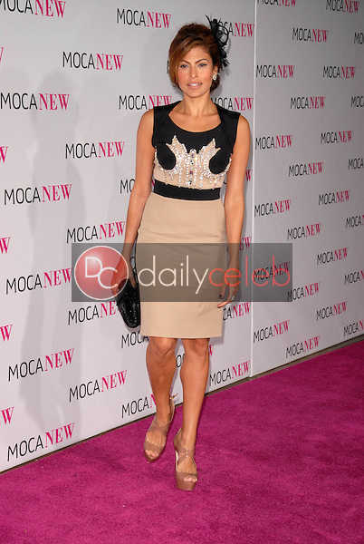 Eva Mendes<br /> at the MOCA New 30th Anniversary Gala, MOCA Grand Avenue, Los Angeles, CA. 11-14-09<br /> David Edwards/DailyCeleb.com 818-249-4998