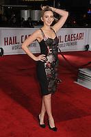 "1 February 2016 - Westwood, California - Natasha Bassett. ""Hail, Caesar!"" Los Angeles Premiere held at the Regency Village Theatre. Photo Credit: Byron Purvis/AdMedia"
