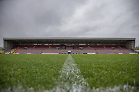 General view of Sixfields Stadium, home of Northampton Town Football Club ahead of the Sky Bet League 2 match between Northampton Town and Morecambe at Sixfields Stadium, Northampton, England on 23 January 2016. Photo by David Horn / PRiME Media Images.