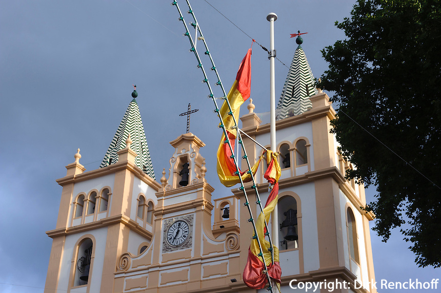 Kathedrale Se in Angra do Heroismo auf der Insel Terceira, Azoren, Portugal, Unesco-Weltkulturerbe