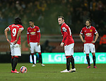 Manchester United's Wayne Rooney looks on dejected after going 1-0 down<br /> <br /> FA Cup - Preston North End vs Manchester United  - Deepdale - England - 16th February 2015 - Picture David Klein/Sportimage